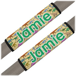 Dinosaurs Seat Belt Covers (Set of 2) (Personalized)