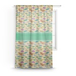 Dinosaurs Sheer Curtains (Personalized)