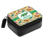 Dinosaurs Small Leatherette Travel Pill Case (Personalized)