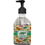 Dinosaurs Soap/Lotion Dispenser (Glass) (Personalized)