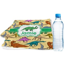 Dinosaurs Sports Towel (Personalized)