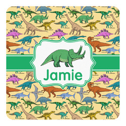 Dinosaurs Square Decal - Custom Size (Personalized)