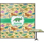 Dinosaurs Square Table Top (Personalized)