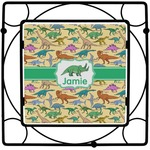 Dinosaurs Square Trivet (Personalized)