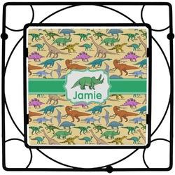 Dinosaurs Square Trivet (Personalized)
