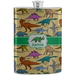 Dinosaurs Stainless Steel Flask (Personalized)