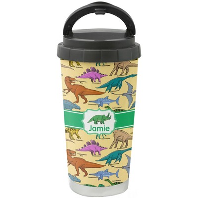 Dinosaurs Stainless Steel Travel Mug Personalized