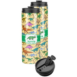 Dinosaurs Stainless Steel Skinny Tumbler (Personalized)