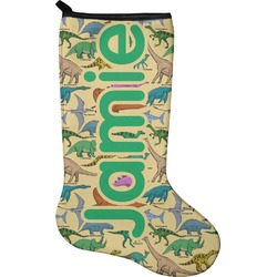 Dinosaurs Holiday Stocking - Neoprene (Personalized)