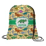 Dinosaurs Drawstring Backpack (Personalized)