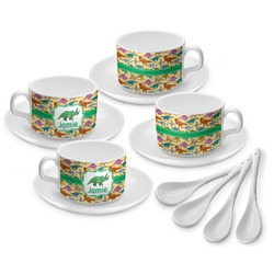Dinosaurs Tea Cup - Set of 4 (Personalized)