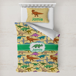 Dinosaurs Toddler Bedding w/ Name or Text