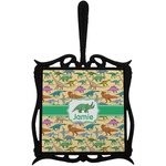 Dinosaurs Trivet with Handle (Personalized)