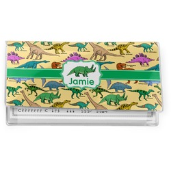 Dinosaurs Vinyl Checkbook Cover (Personalized)