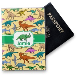 Dinosaurs Vinyl Passport Holder (Personalized)