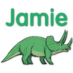 Dinosaurs Graphic Wall Decal (Personalized)