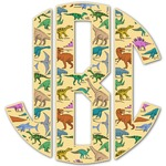 Dinosaurs Monogram Decal - Custom Sized (Personalized)