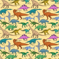 Dinosaurs Wallpaper & Surface Covering