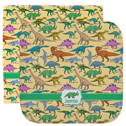 Dinosaurs Facecloth / Wash Cloth (Personalized)