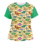 Dinosaurs Women's Crew T-Shirt (Personalized)