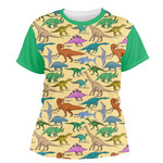 Dinosaurs Women's Crew T-Shirt (Personalized)