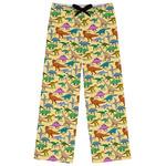 Dinosaurs Womens Pajama Pants (Personalized)