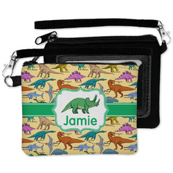 Dinosaurs Wristlet ID Case w/ Name or Text