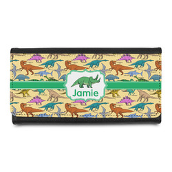 Dinosaurs Leatherette Ladies Wallet (Personalized)