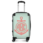 Chevron & Anchor Suitcase (Personalized)