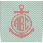 Chevron & Anchor Ceramic Tile Hot Pad (Personalized)
