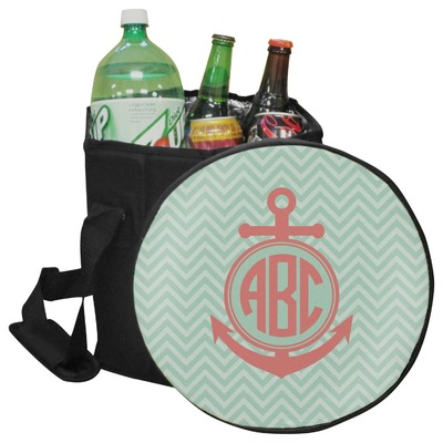 Chevron & Anchor Collapsible Cooler & Seat (Personalized)