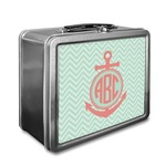 Chevron & Anchor Lunch Box (Personalized)