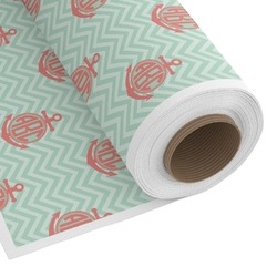 Chevron & Anchor Custom Fabric by the Yard (Personalized)