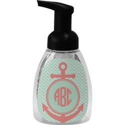 Chevron & Anchor Foam Soap Dispenser (Personalized)