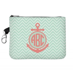 Chevron & Anchor Golf Accessories Bag (Personalized)