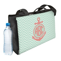 Chevron & Anchor Ladies Workout Bag (Personalized)