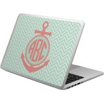 Chevron & Anchor Laptop Skin - Custom Sized (Personalized)