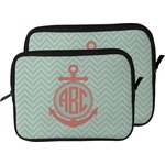 Chevron & Anchor Laptop Sleeve / Case (Personalized)