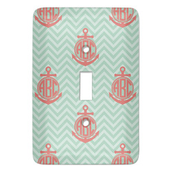Chevron & Anchor Light Switch Covers (Personalized)