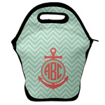 Chevron & Anchor Lunch Bag (Personalized)
