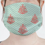 Chevron & Anchor Face Mask Cover (Personalized)