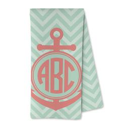 Chevron & Anchor Microfiber Kitchen Towel (Personalized)