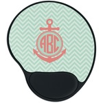 Chevron & Anchor Mouse Pad with Wrist Support