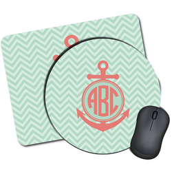 Chevron & Anchor Mouse Pads (Personalized)