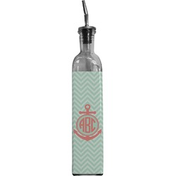 Chevron & Anchor Oil Dispenser Bottle (Personalized)
