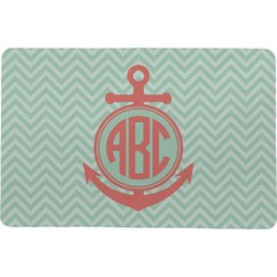 Chevron & Anchor Comfort Mat (Personalized)