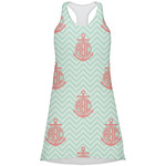 Chevron & Anchor Racerback Dress (Personalized)