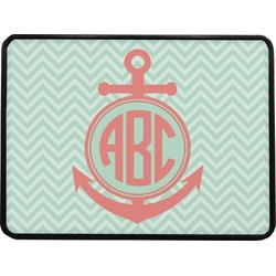 Chevron & Anchor Rectangular Trailer Hitch Cover (Personalized)