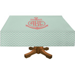 Chevron & Anchor Tablecloth (Personalized)