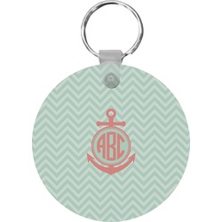 Chevron & Anchor Keychains - FRP (Personalized)